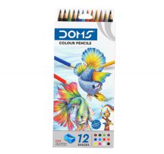 DOMS Colour Pencils (12 Shades)