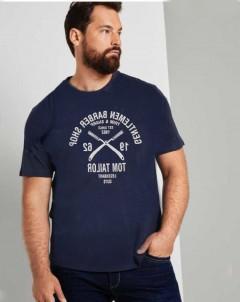 TOM TAILOR Mens T-Shirt (NAVY) (S - M )