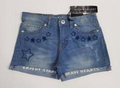 PINK VELVET Girls Short (BLUE) (3 to 16 Years)
