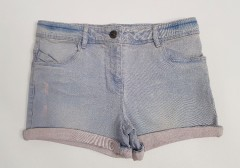TAPE ALOEIL Girls Short (LIGHT BLUE) (2 to 14 Years)