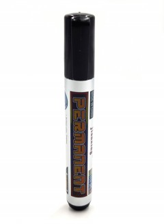 JIANXING Permanent Marker JX-8001 (BLACK) ( MOS)