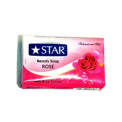 STAR Beauty Soap Rose 125g (Exp: 11.2023) (MOS)