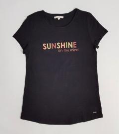 TOM TAILOR Mens T-Shirt (BLACK) (XS - S)