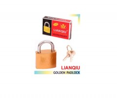 LIANQIU Golden Padlock (25mm) (MOS)
