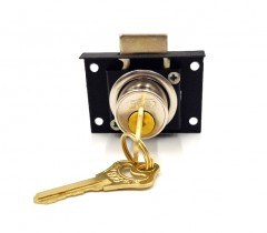 BO8 Drawer Lock No.HL502P (SIZE: 2)  (AS PHOTO) (MOS)