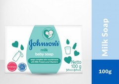 JOHNSON'S Baby Milk Soap 100g (Exp: 09.2023) (MOS)