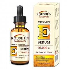 ROUSHUN  Naturals Vitamin E Serum 70,000 IU (30ml) ((EXP: 01.08.2025) (MOS)