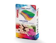 CANSIN PLAST Waterproof Bandages Colour (20 Pcs) (Exp: 07.2025) (MOS)