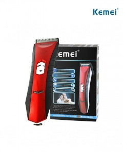KEMEI KM-025 Professional Electric Hair Clipper (RED-BLACK) (FRH)