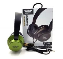 LELISU Wired Headphone with Mic/ LELISU LS-806 (GREEN) (ON SIZE) (FRH)