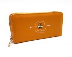 Ladies Wallet (DARK YELLOW) (Os) (FRH)