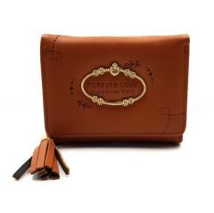 Ladies Wallet (BROWN) (Os) (FRH)