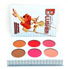 ADS Blusher Beauty solution Palette 6 Color (AS PHOTO) (FRH)