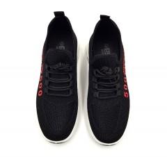 POERWMAN Mens Shoes (BLACK) (40 to 45)