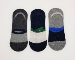 R-MARTIN Mens Socks 3 Pcs Pack (RANDOM COLOR) (FREE SIZE)