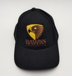 HAWKS Mens Cap (BLACK) (FREE SIZE)