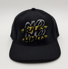 FLE AND FIT Mens Cap (BLACK) (FREE SIZE)