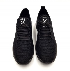 NICE Mens Shoes (BLACK) (40 to 45)