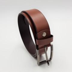 R-MARTIN Mens Belt (BROWN) (FREE SIZE)