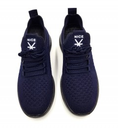 NICE Mens Shoes (NAVY) (40 to 45)