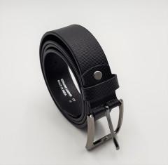 R-MARTIN Mens Belt (BLACK) (FREE SIZE)