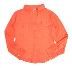 KATE PARK Ladies Shirt ( ORANGE ) ( S - M - L - XL - 2XL - 3XL)