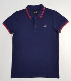 DAVYSON Mens Polo Shirt (NAVY) (S - M - L - XL - XXL)