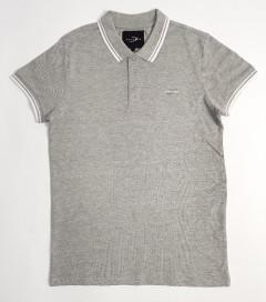 DAVYSON Mens Polo Shirt  (GRAY) (S - M - L - XL - XXL)