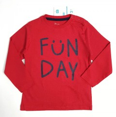 ZY BABY BOY Baby Sweat Shirt (RED) (18 to 24 Month)