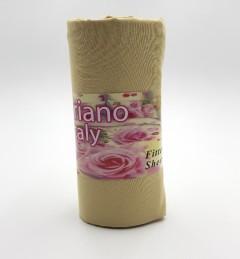 SINGLE BED SHEET (90X190 CM) (CREAM) (FRH)