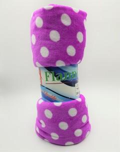 FLANNEL Blanket (PURPLE) (200 × 240 CM)