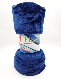 FLANNEL Blanket (BLUE) (200 × 220 CM)