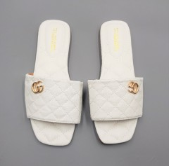 WATER FISH Ladies Sandals Shoes (WHITE) (37 to 41)