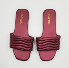 WATER FISH Ladies Sandals Shoes (MAROON) (37 to 41)