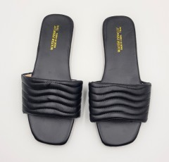 WATER FISH Ladies Sandals Shoes (BLACK) (37 to 41)