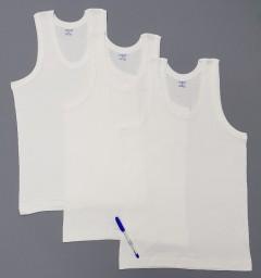 COMFORT AUTHENTIC Mens Vest 3 Pce Set (WHITE) ( M - XL - XXL)