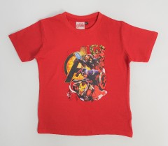 MARVEL AVENGERS Boys T-Shirt (RED) (2 to 9 Years)