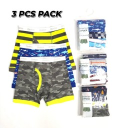 OSHKOSH 3 Pcs Boys Boxer Shorts Pack ( Random Color) (4 to 14 Years)