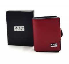 HORSE Mens Wallet (RED) (OS)