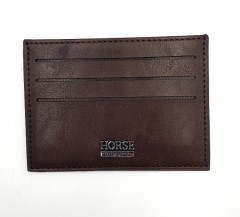 PHILIPPE MORGAN Mens Card Holder (BROWN) (FREE SIZE)