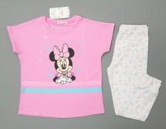 MINI CLUB BABY Girls 2 Pcs Pyjama Set (PINK - WHITE) (9 Months to 5 Years)