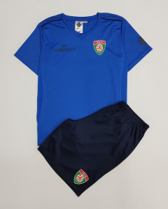 UEFA EURO 2020 Boys 2 Pcs Shorty Set (BLUE-NAVY) (4 To 14 Years)