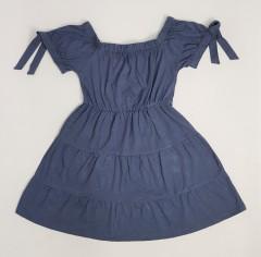 DEREK HEART Ladies Dress (NAVY) (S - M - L - XL)
