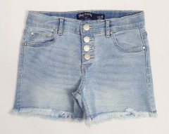BLUE CANDY Girls Jeans Short (LIGHT BLUE) (8 to 14 Years)