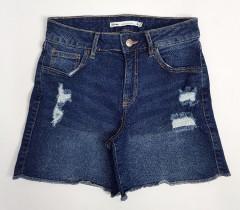 LEFTIES Ladies Jeans Short (DARK BLUE) (24 to 32)