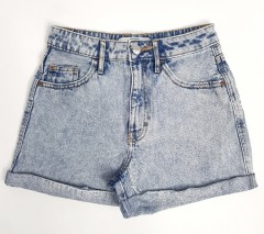 LEFTIES Ladies Jeans Short (BLUE) (24 to 34)