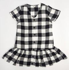 Ladies Dress (WHITE - BLACK) (XS - S - M - L - XL - 2XL - 3XL - 4XL - 5XL)