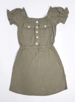 DEREK HEART Ladies Dress (DARK GREEN) (S - M - L - XL - 2XL)