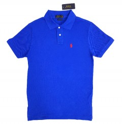 POLO Mens Polo Shirt (BLUE ) (S - M - L)