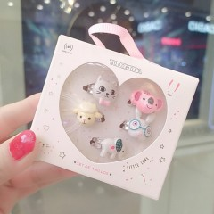 5Pce Fancy Ring Pack  (AS PHOTO) (ONE SIZE)
